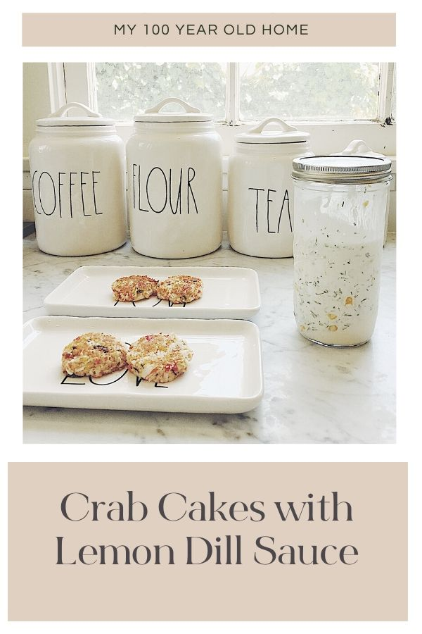 Everyone has a favorite recipe that whenever you make it, everyone goes crazy. For me, that is my Crab Cakes Recipe with Lemon Dill Sauce.