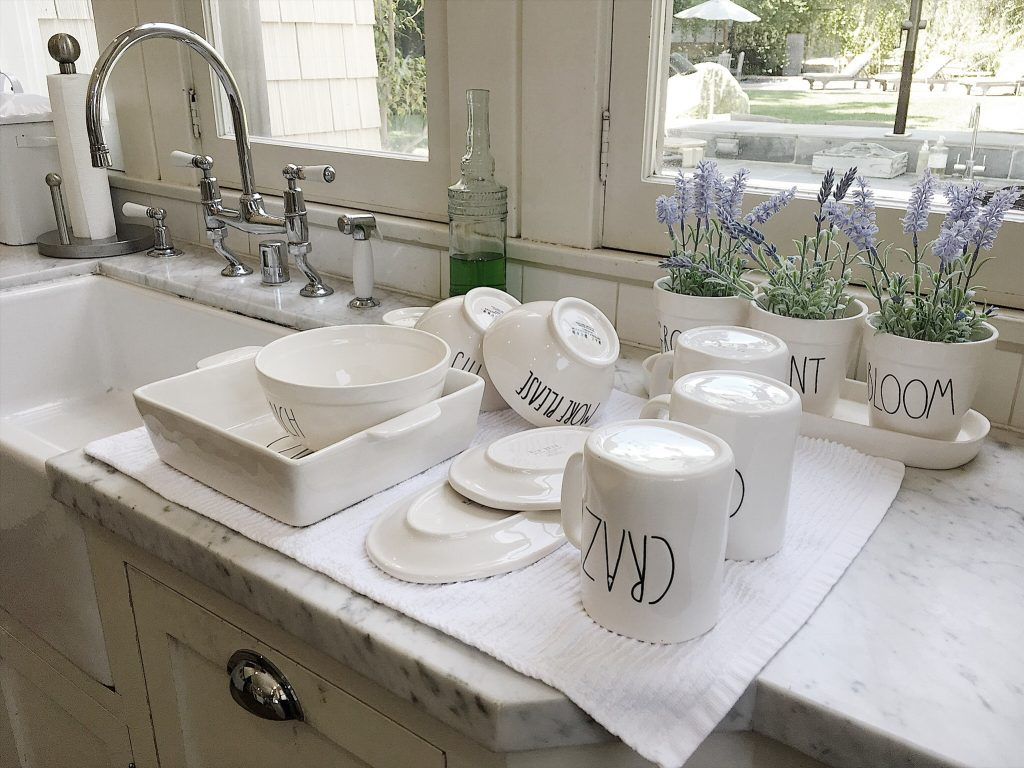 How to Care for Rae Dunn Pottery