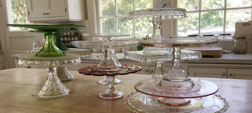 How to Collect Vintage Cake Stands