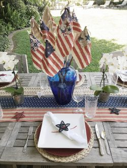 4th of july DIY flags