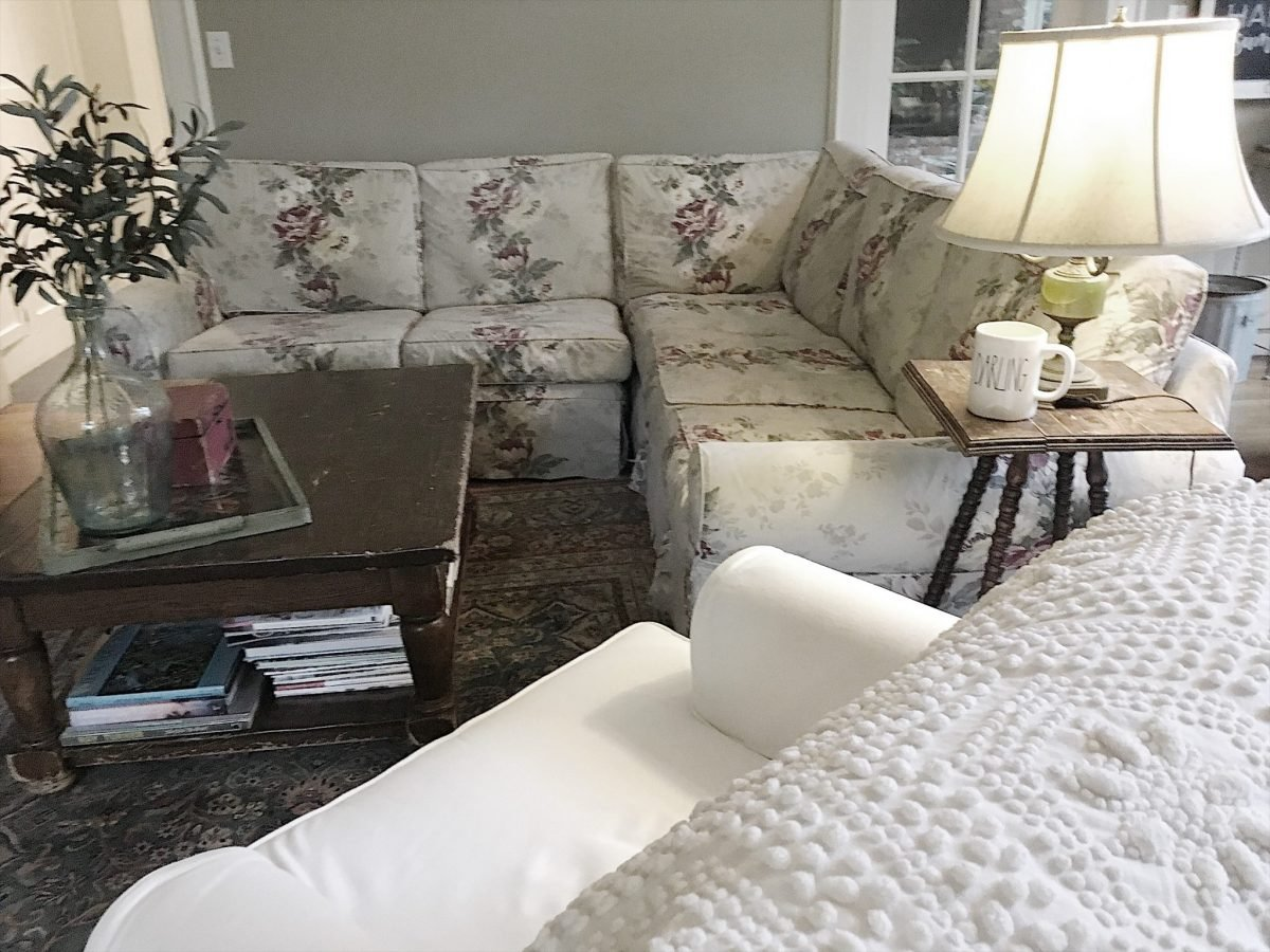 The Family Room Makeover – Creating a Plan My 100 Year Old Home