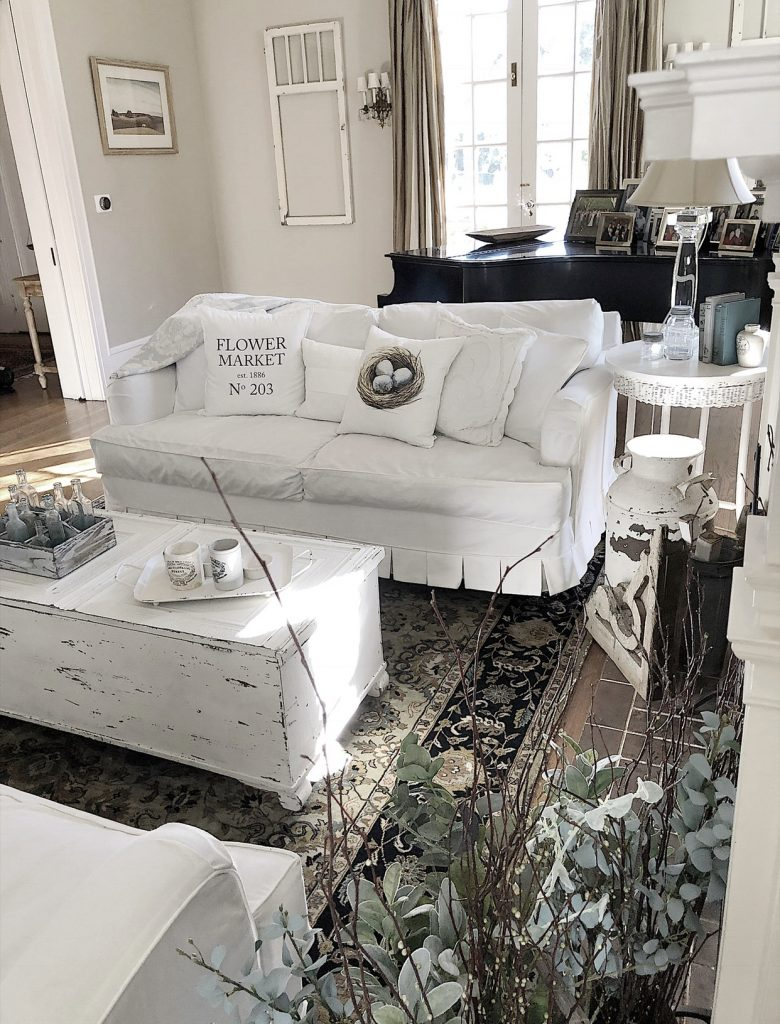 living room slipcovers