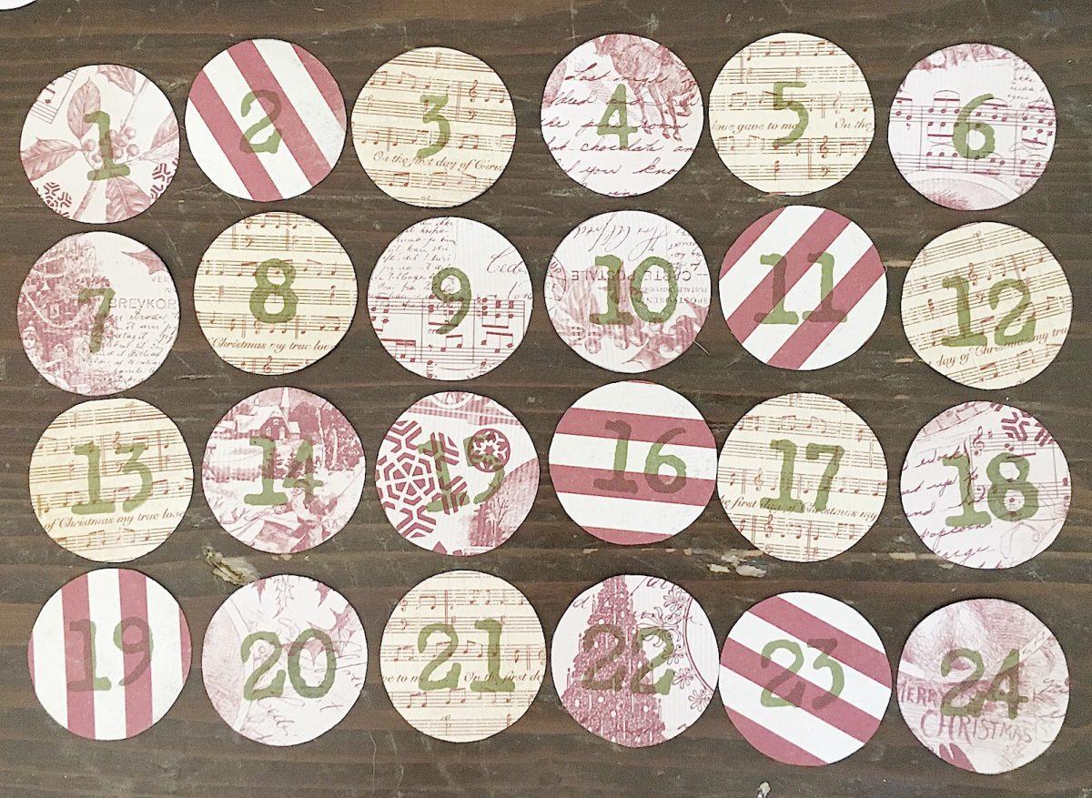 DIY advent calendar 7