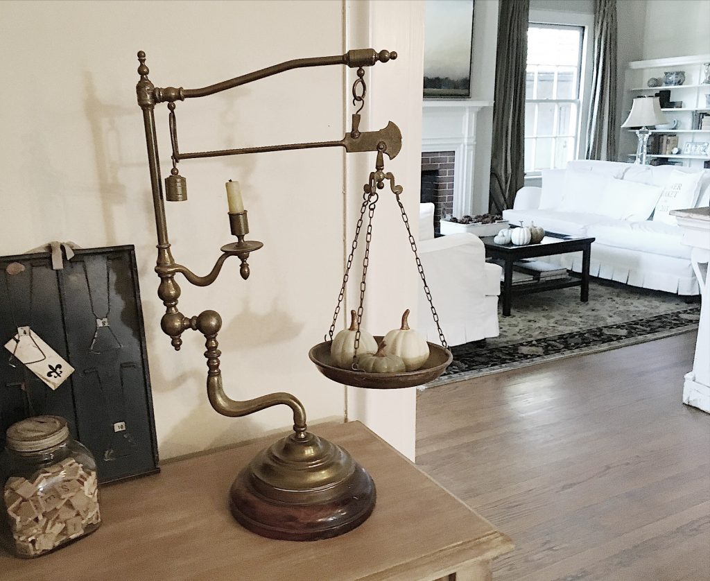 Vintage Candle Scale