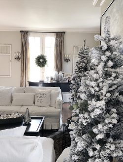 Home Christmas decor tree