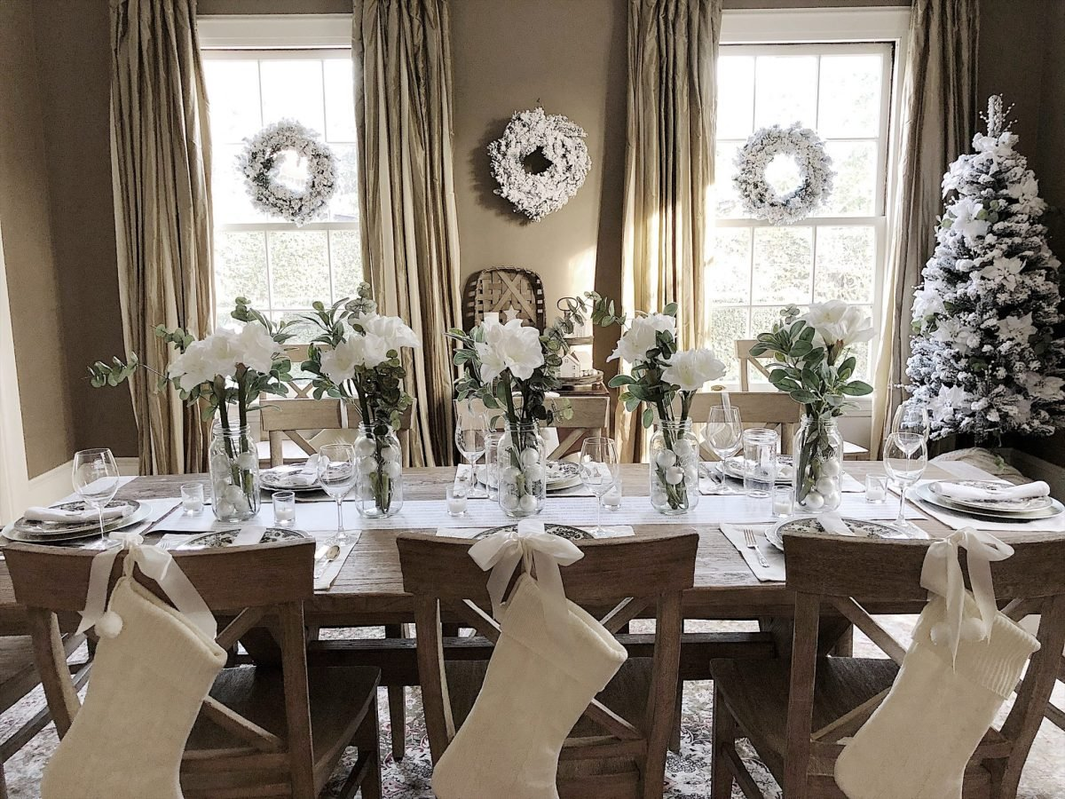 How To Style A Farmhouse Christmas My 100 Year Old Home