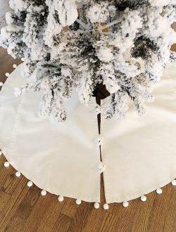 DIY Tree SKirt