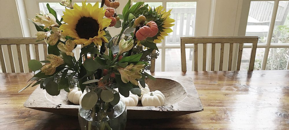 Creating Flower Arrangements for your Home  – with Flowers from Trader Joes