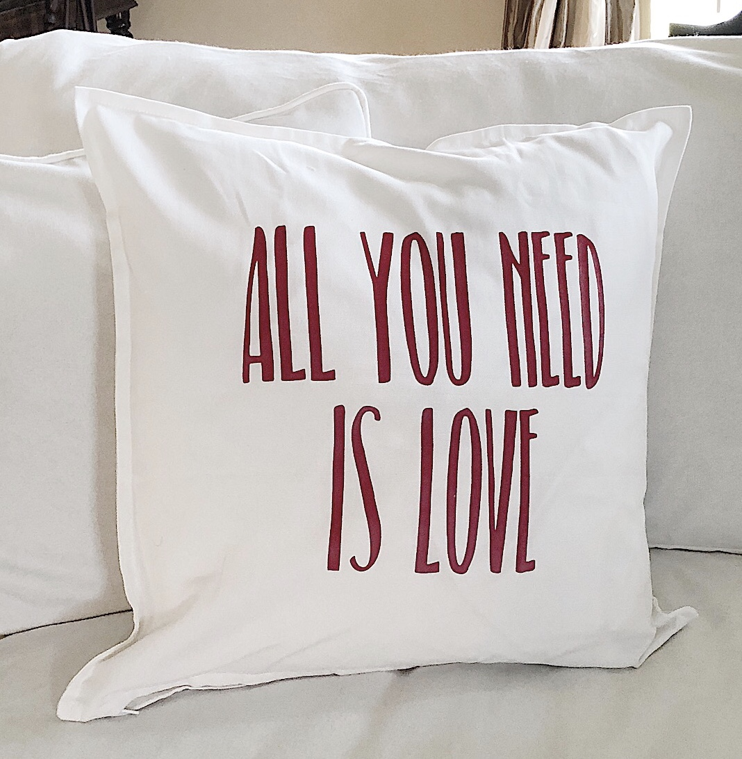 Diy Pillow Covers valentines day
