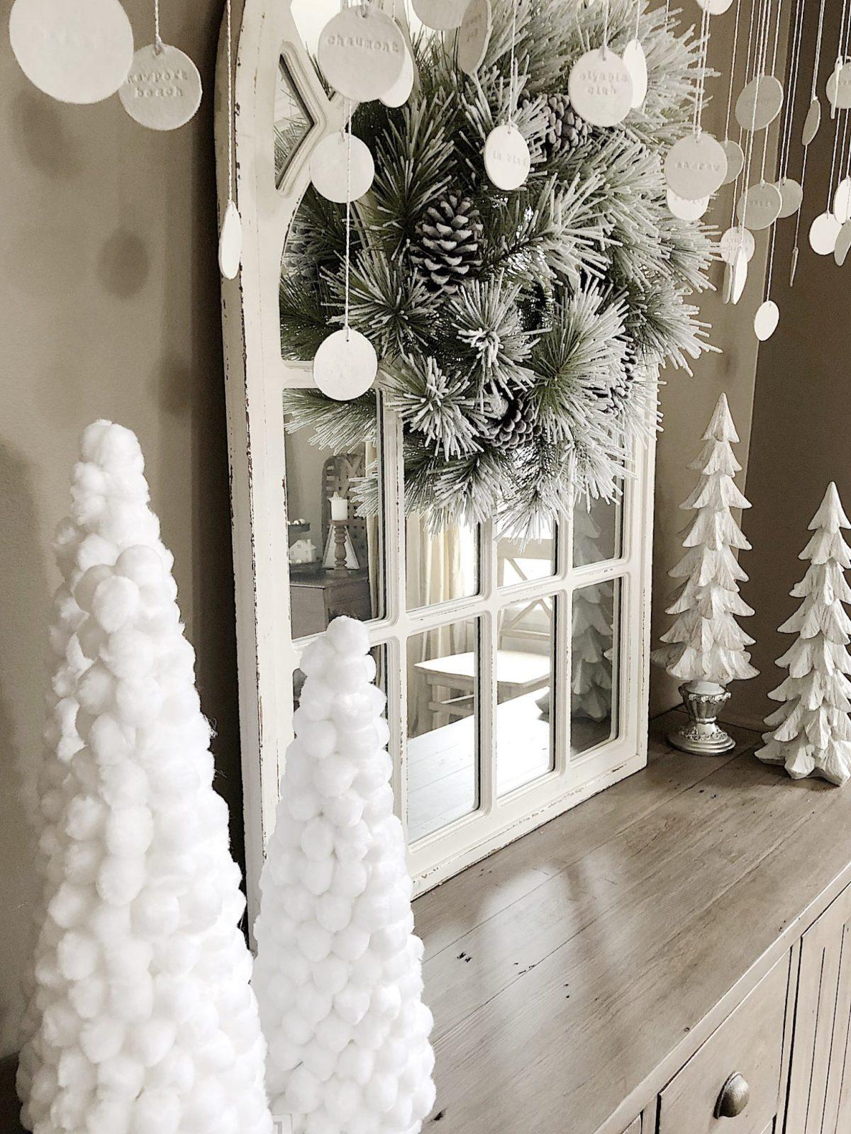pom pom christmas trees 5