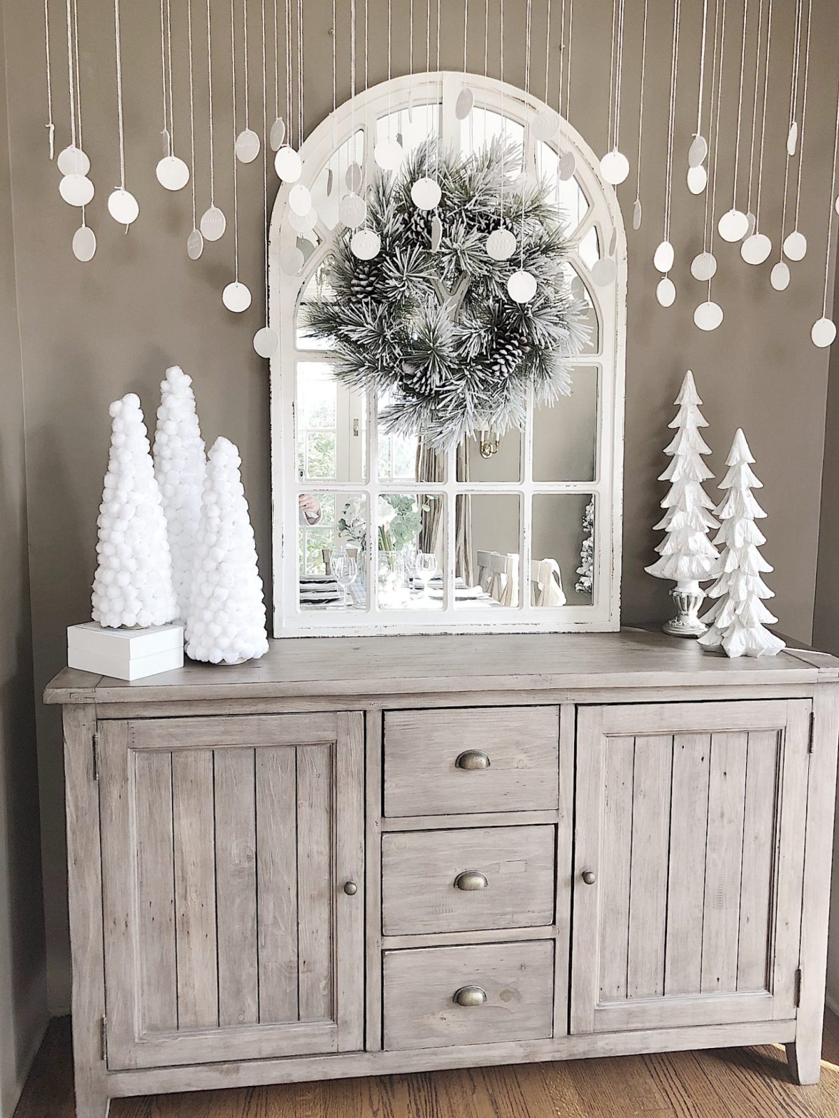 Diy Christmas Ideas How To Make Pom Pom Christmas Trees