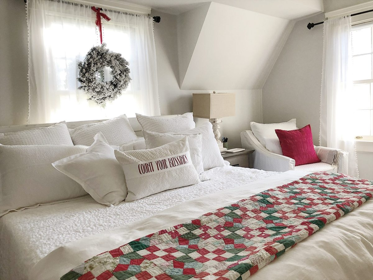 Wonderful Decorate Bedroom Christmas