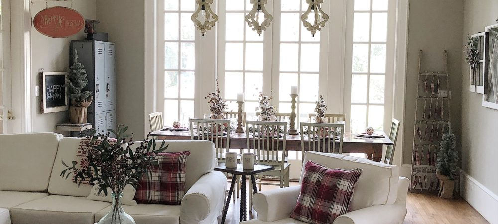 Deck the Halls in the Family Room