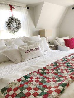 master bedroom christmas