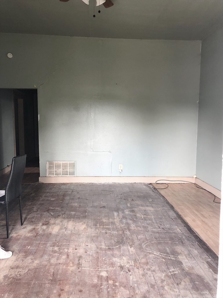 fixer upper waco before plaster walls