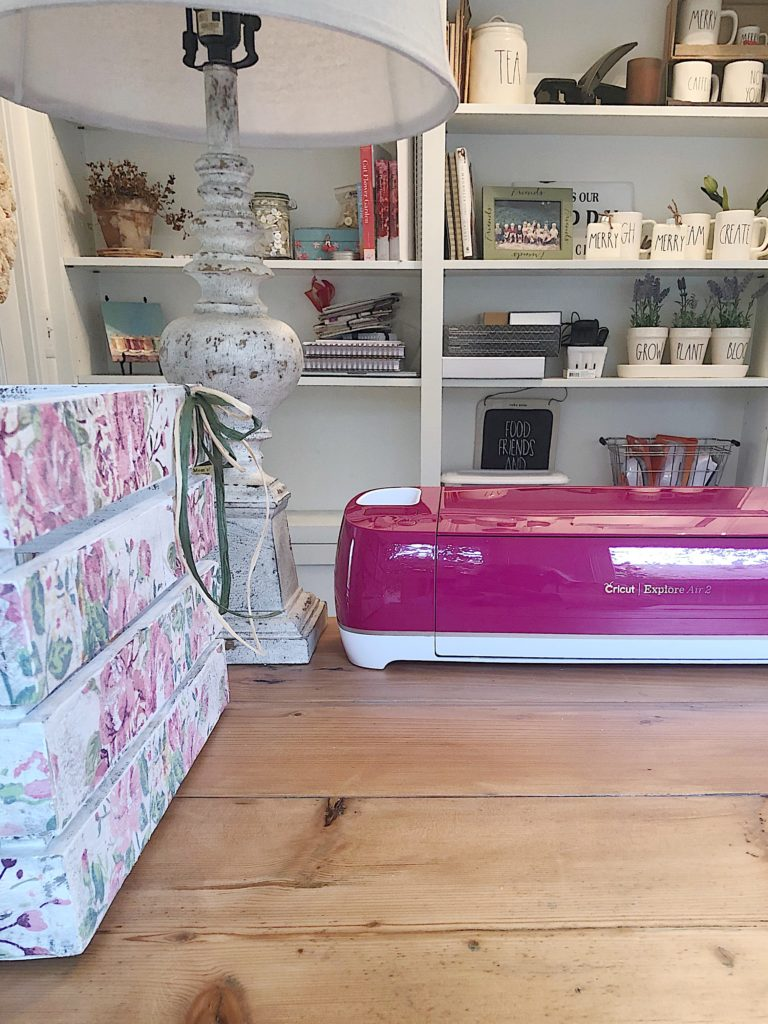 cricut rose machine