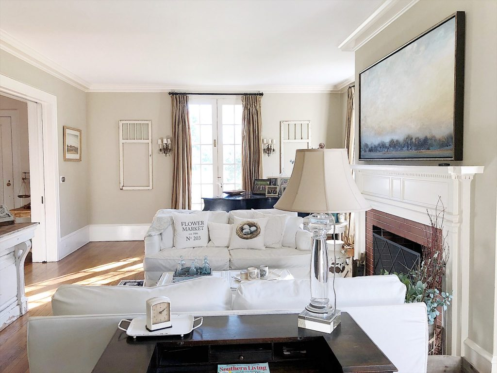 Living Room Farmhouse decor