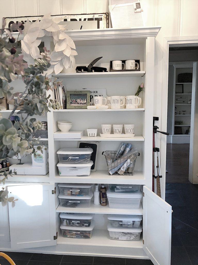Craft Room Storage