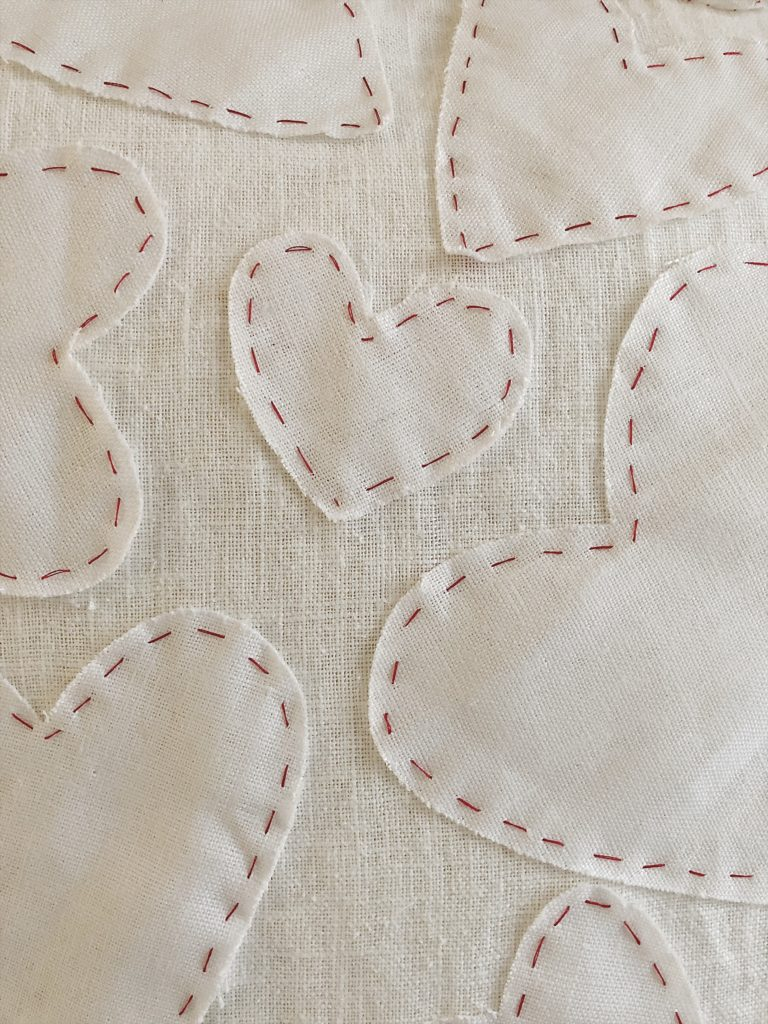 diy valentine's day gifts hand sewn pillow