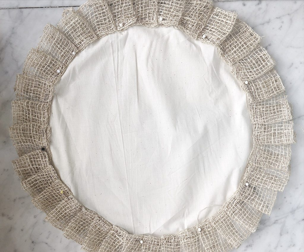 How to Make Ruffled Placemats 5