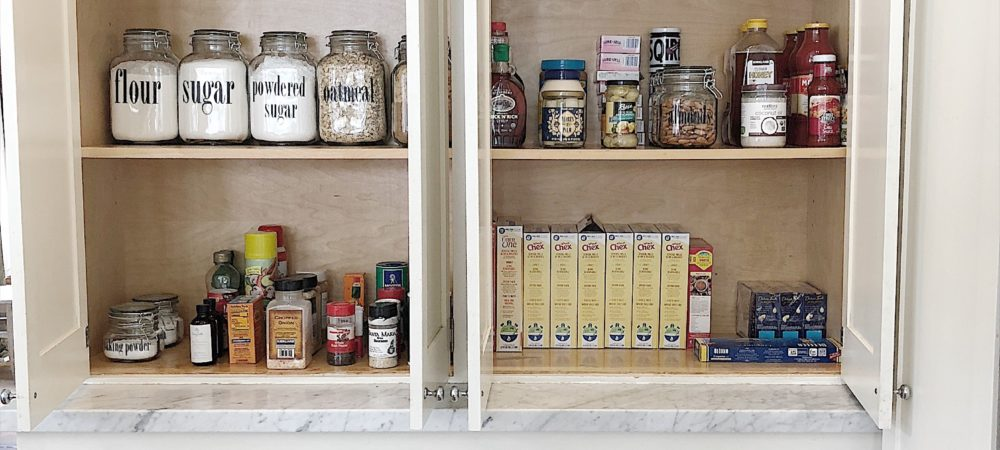 Five Steps to Organize a Pantry