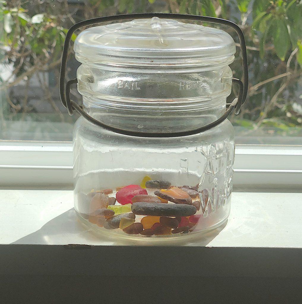 Extra sea glass
