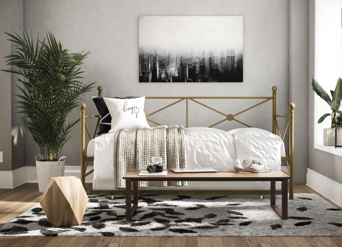 I Like The Style Of This Bed Its More Modern And Light Airy Called DHP Lubin Daybed Twin Trundle Under 20000