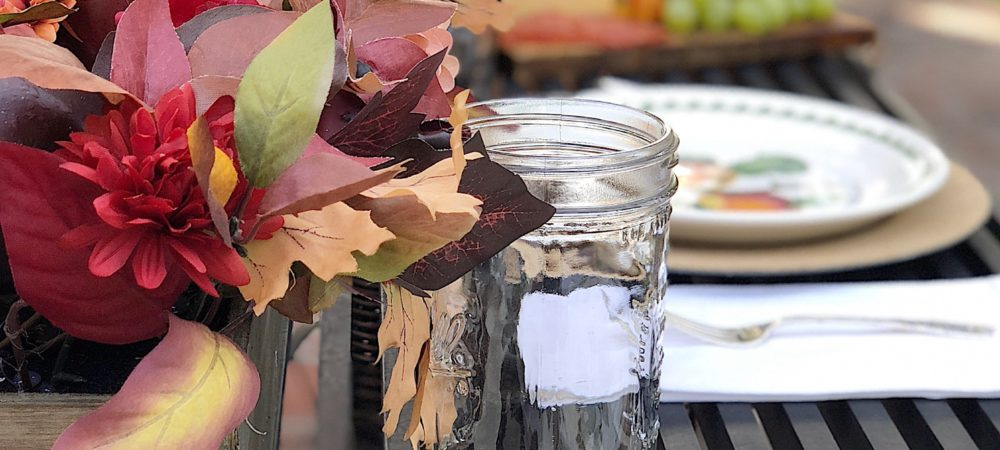 Entertaining at Home with the Colors of Fall