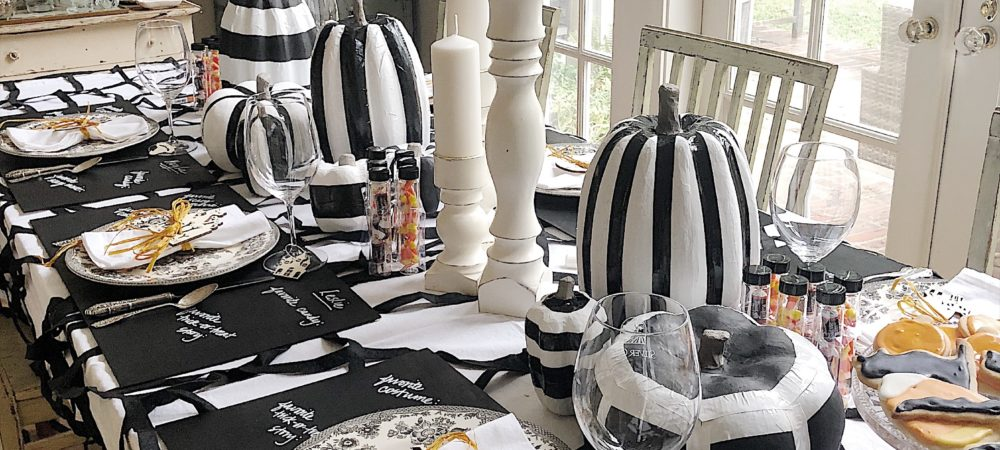How to Make Creative Halloween Table Decorations