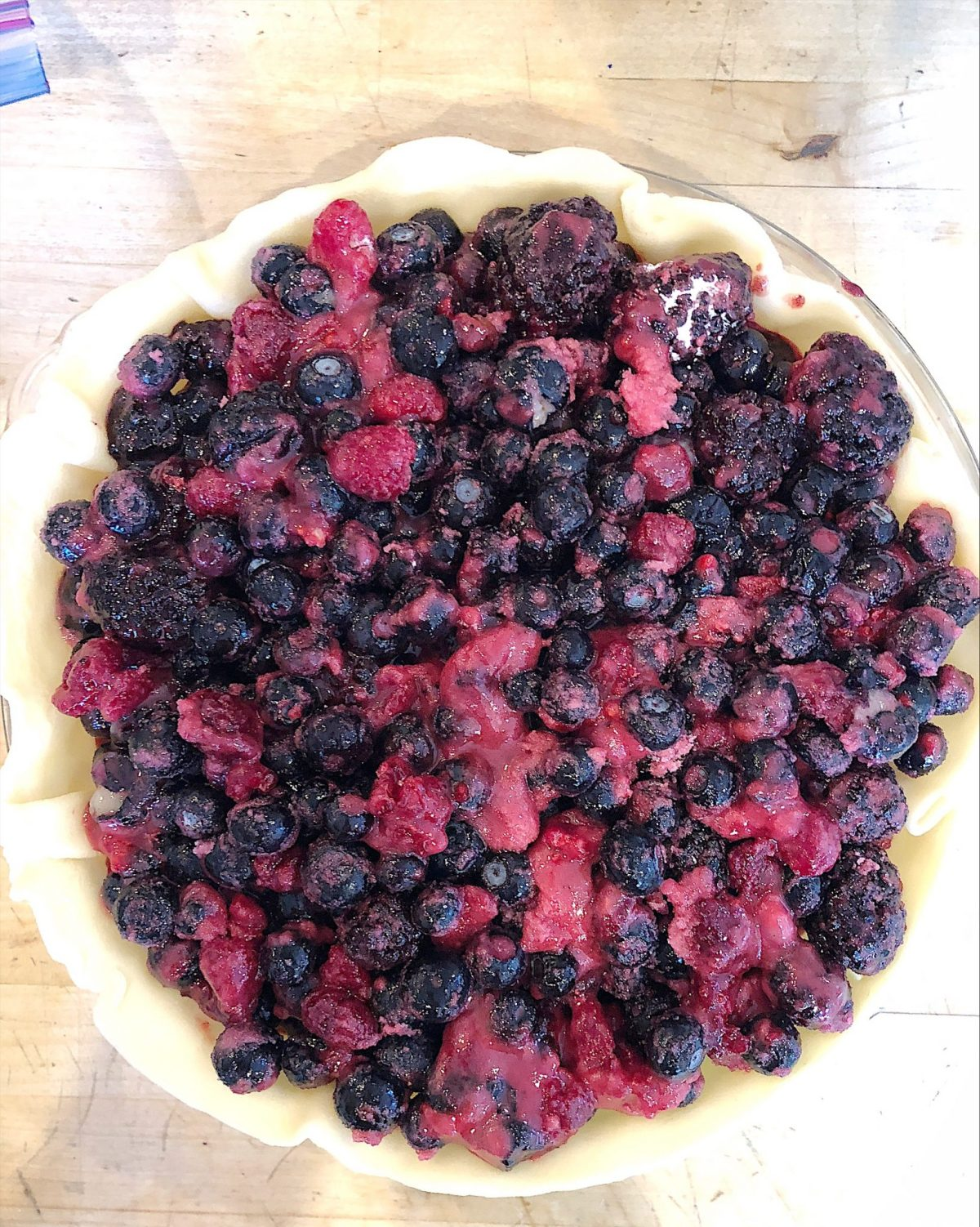 berry pie ingredients