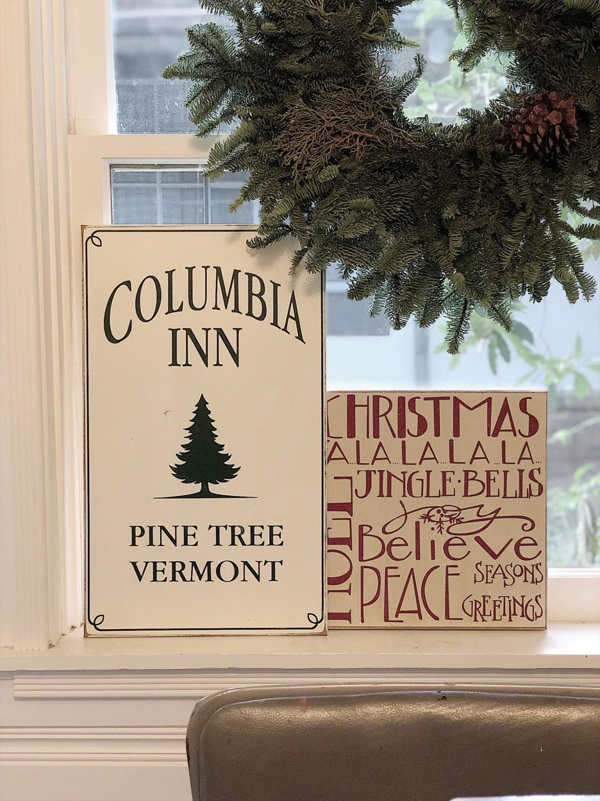 Holiday Housewalk Tour Craft Room Signs