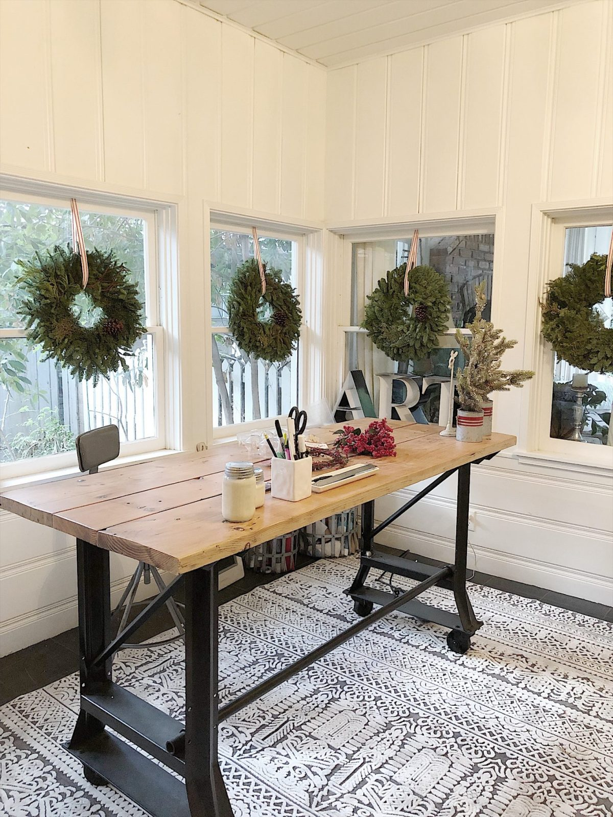 Holiday Housewalk Tour Craft Room