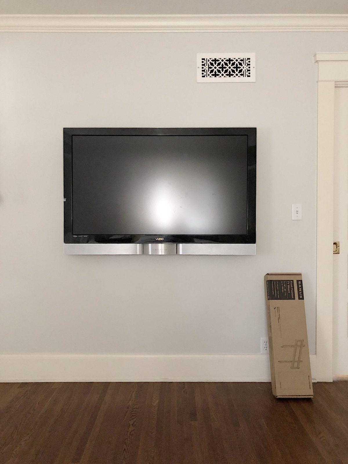 frame your tv before photo