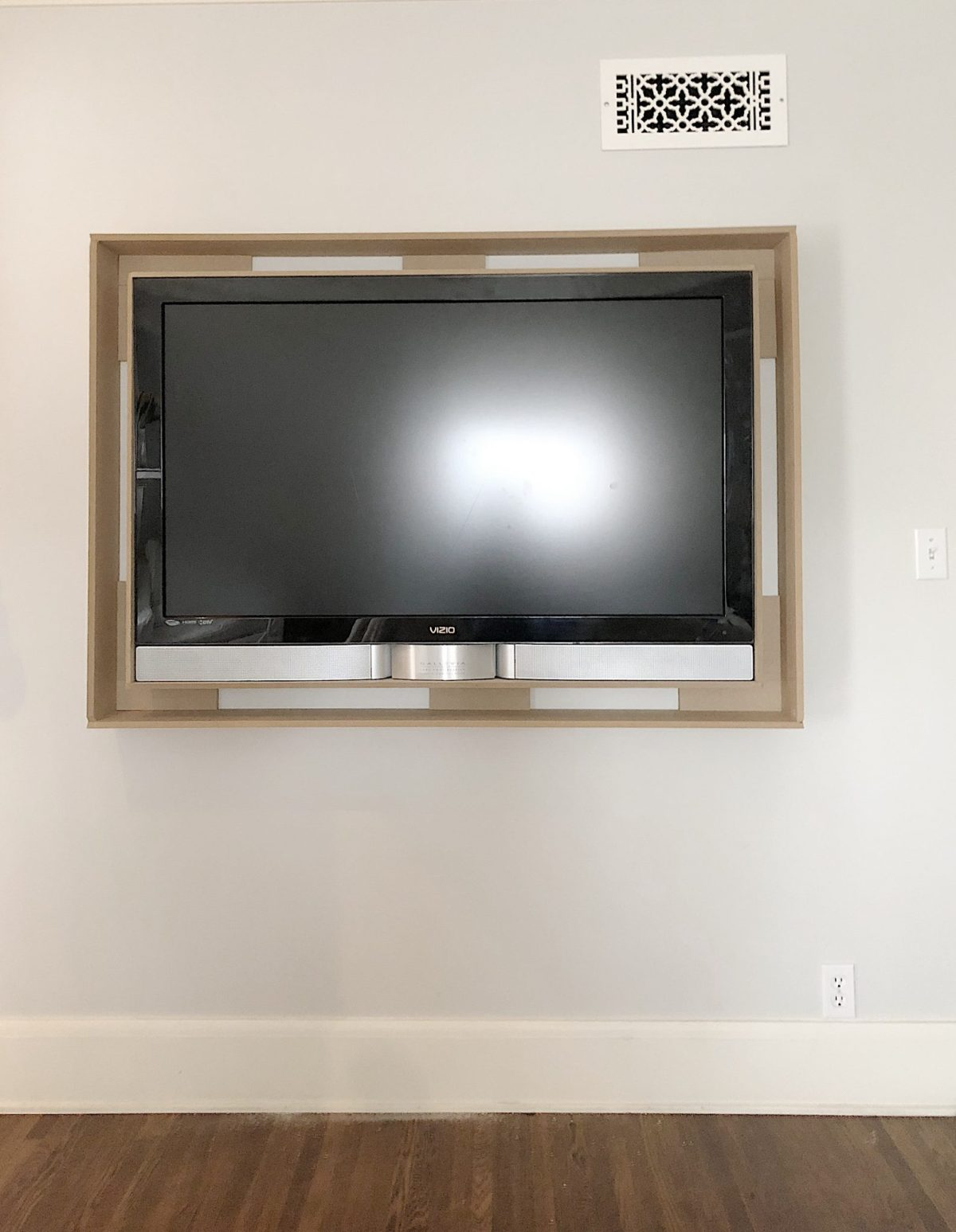 build a frame for your tv