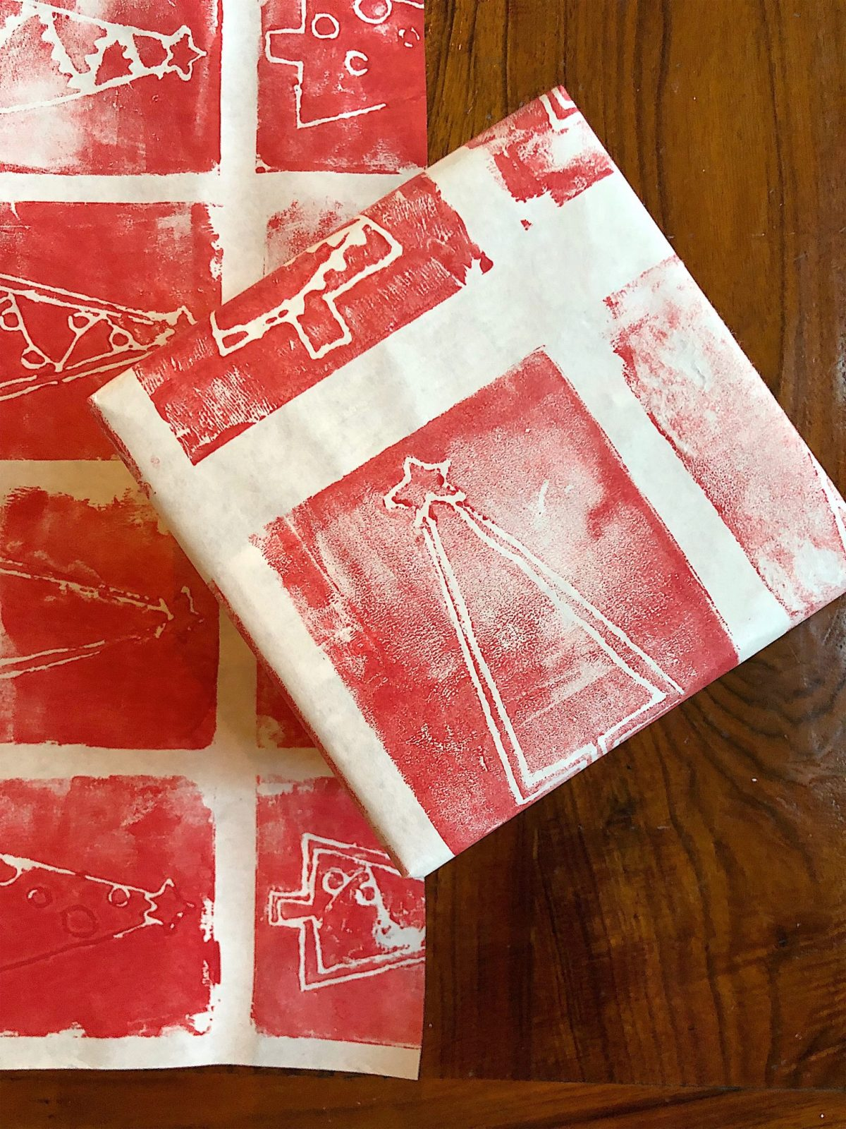 DIY wrapping paper 6