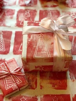 DIY wrapping paper 9