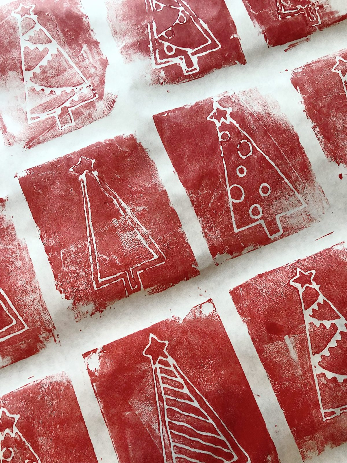 DIY wrapping paper christmas