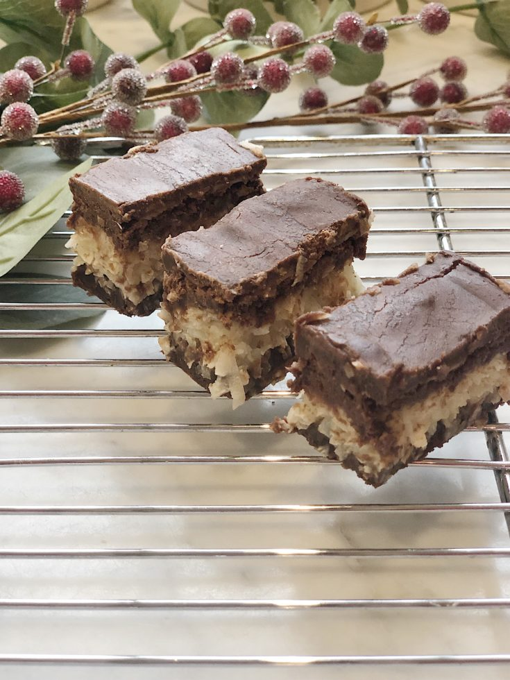 Coconut Joy Candy Bars