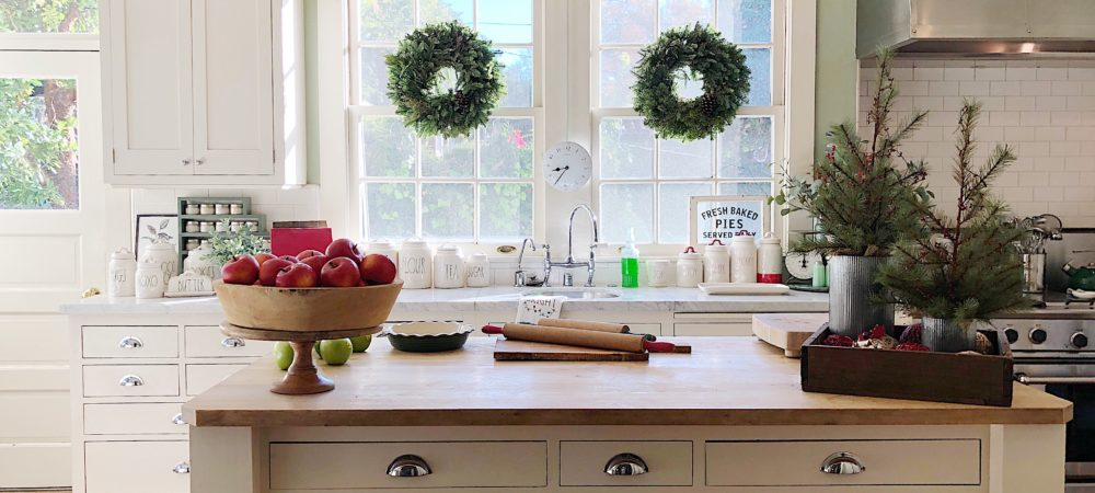 A Christmas Kitchen Tour