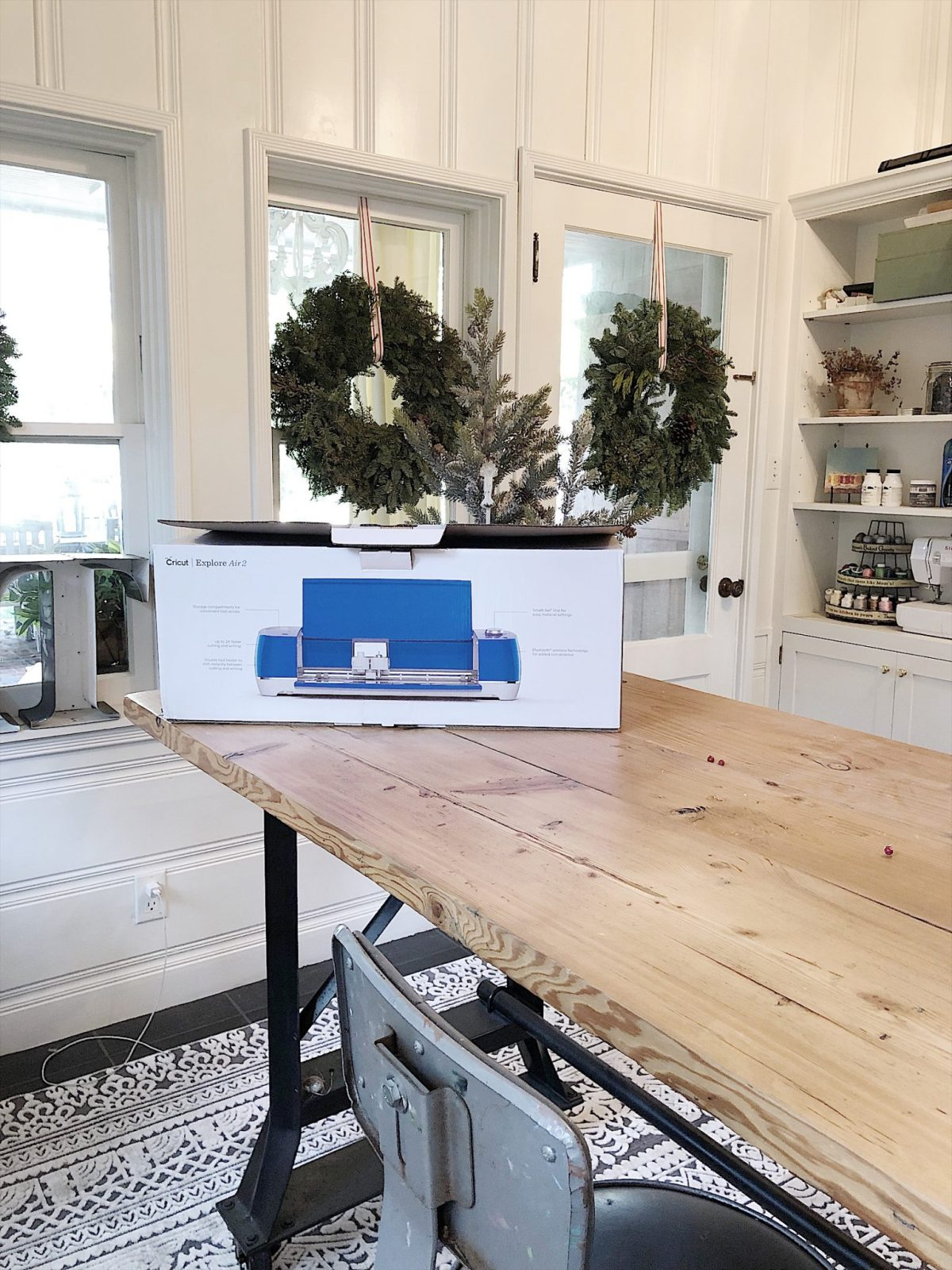 how to make a stencil with cricut