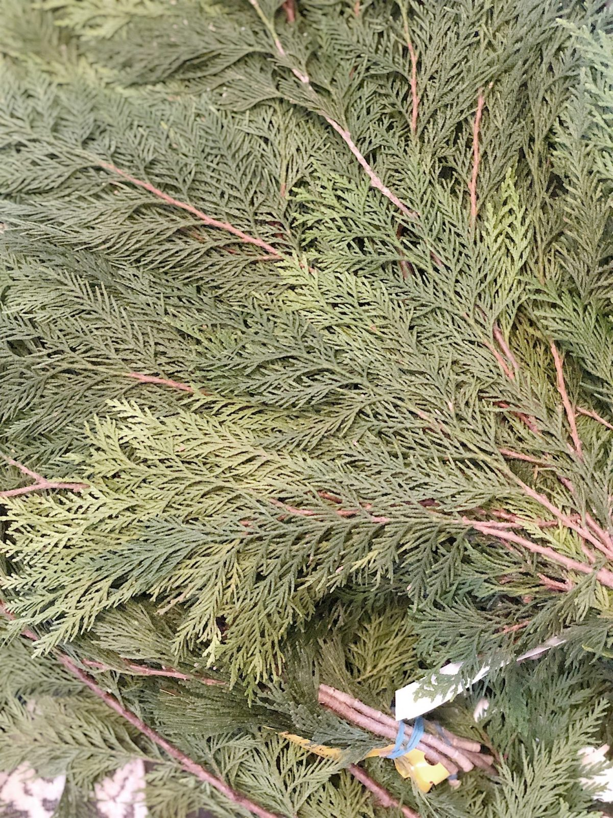 christmas tree skirt supplies
