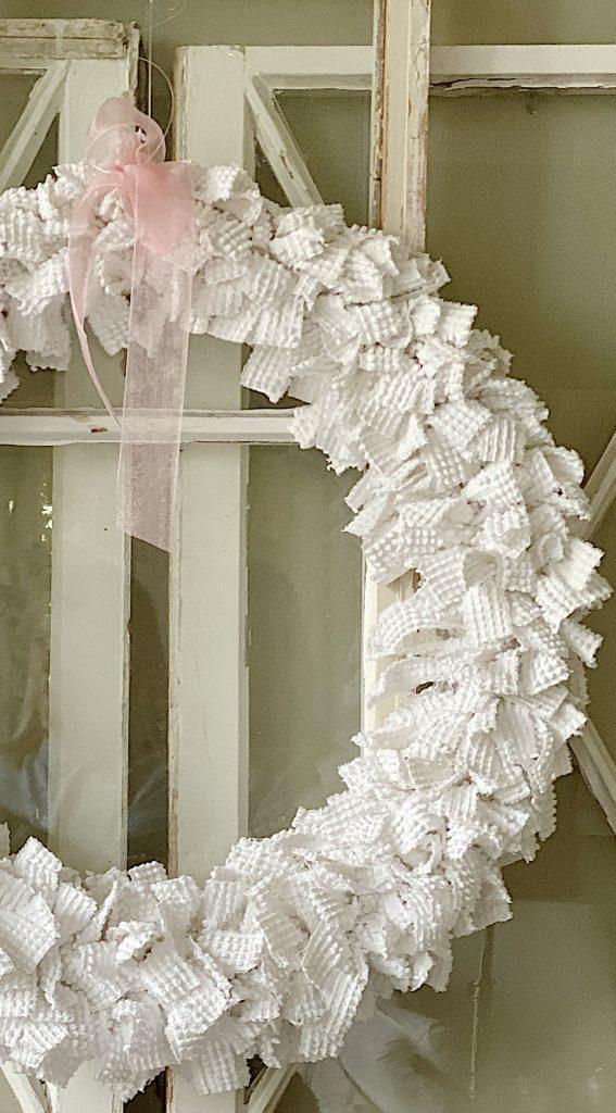 Chenille Wreath DIY
