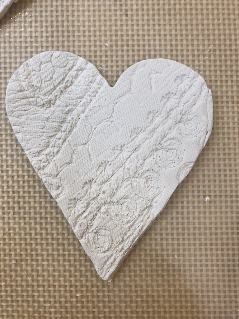 baked clay valentine crafts