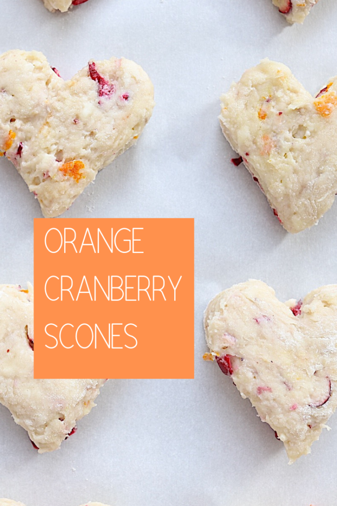 Cranberry Orange Scones are a delicious addition to breakfast or brunch. The combination of sweet and tart is absolutely wonderful.