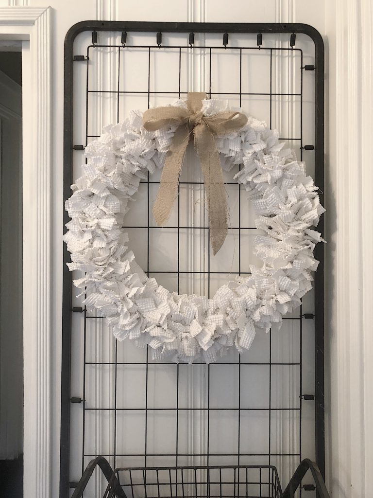 how to make a chenille wreath