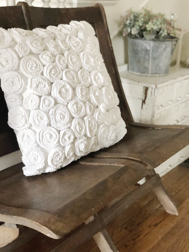 DIY flower pillow 4