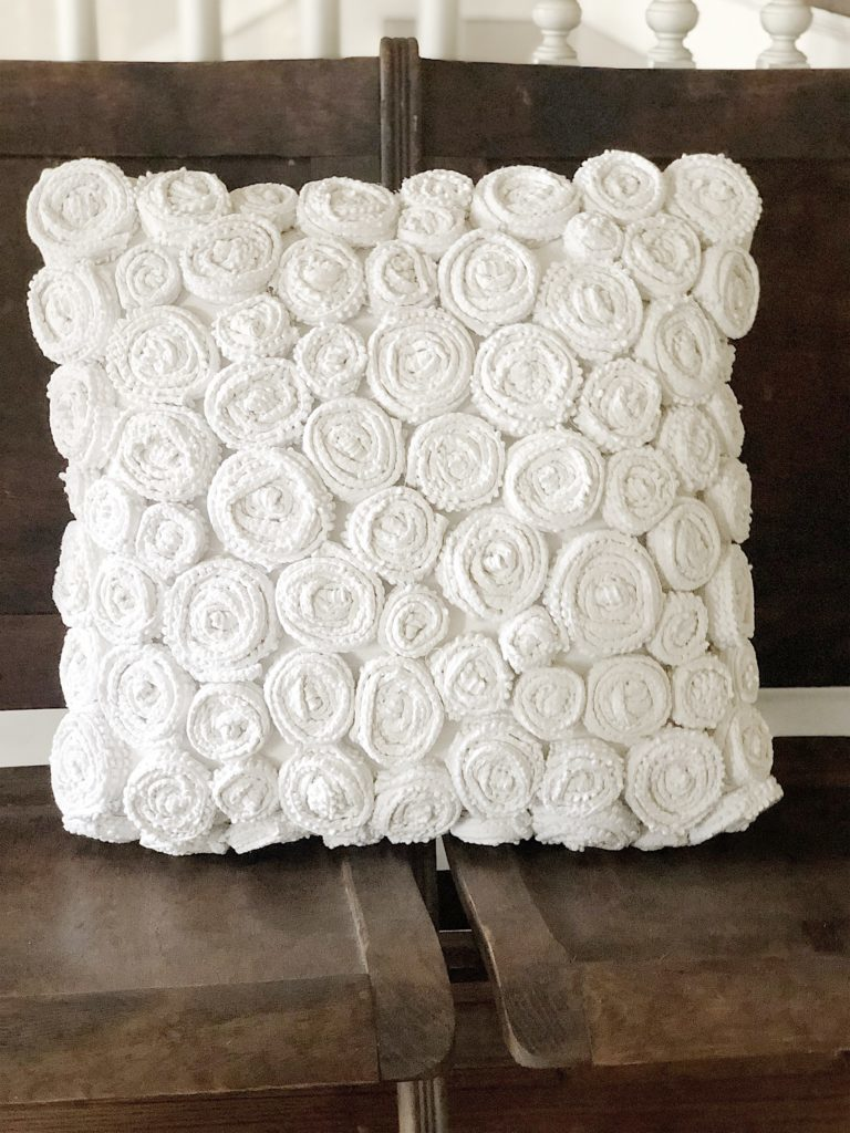 Flower Pillow DIY
