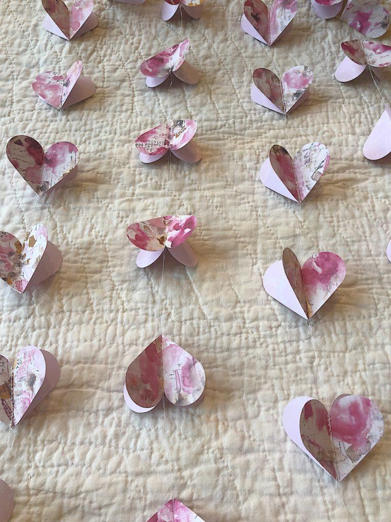 heart garland 13