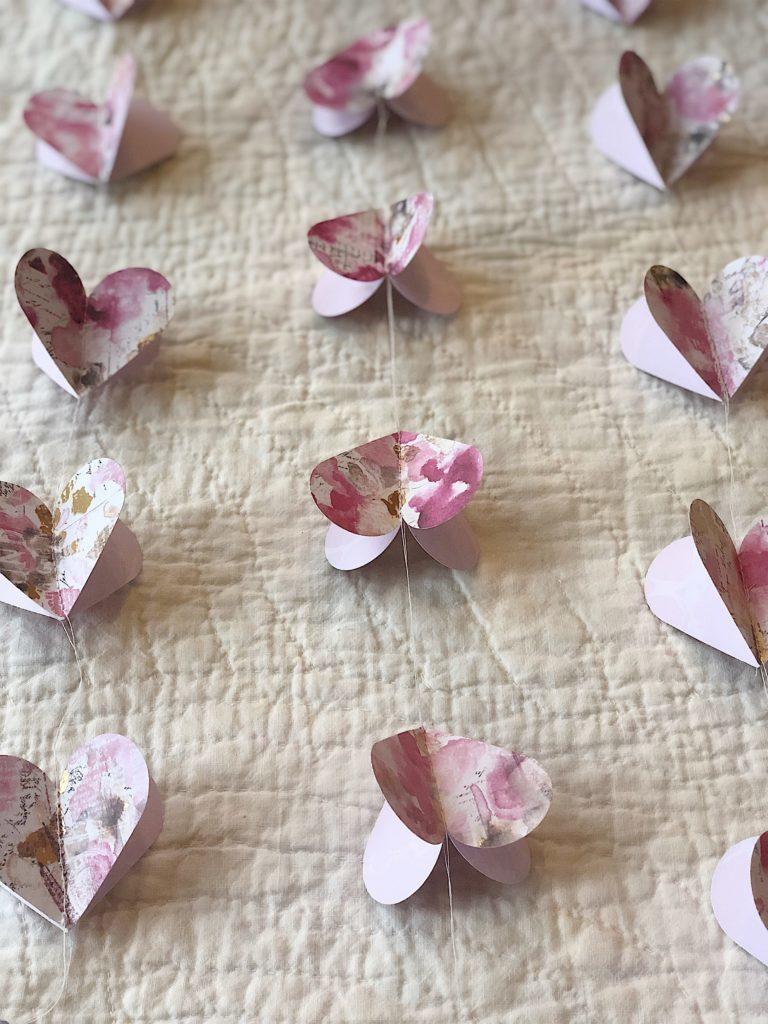 heart garland 9