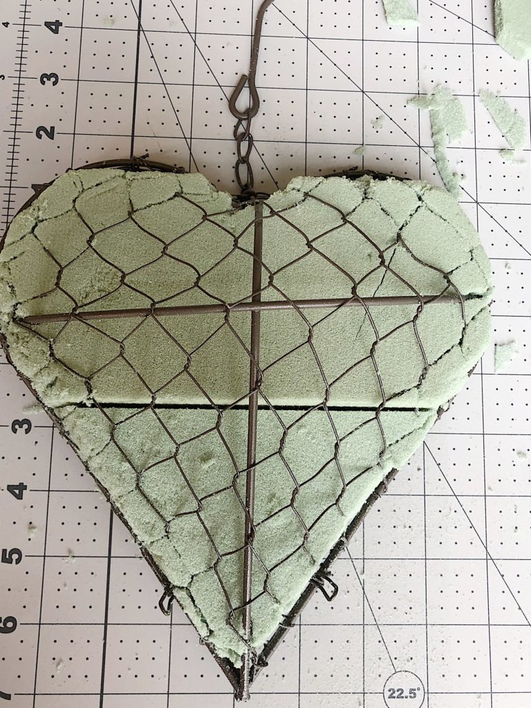 heart shaped succulent project